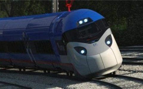 时速300km/h还会卖萌 美国新一代高铁2021年推出