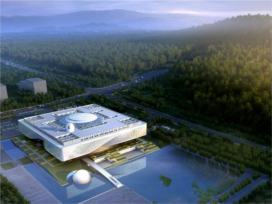 设计施工一体化,烽火助力湖北省科技馆新馆提速建设